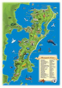 Mapa florianopolis