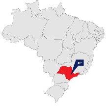 sp mapa brasil