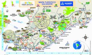Salvador City Map